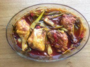 poulet à la sauce soja