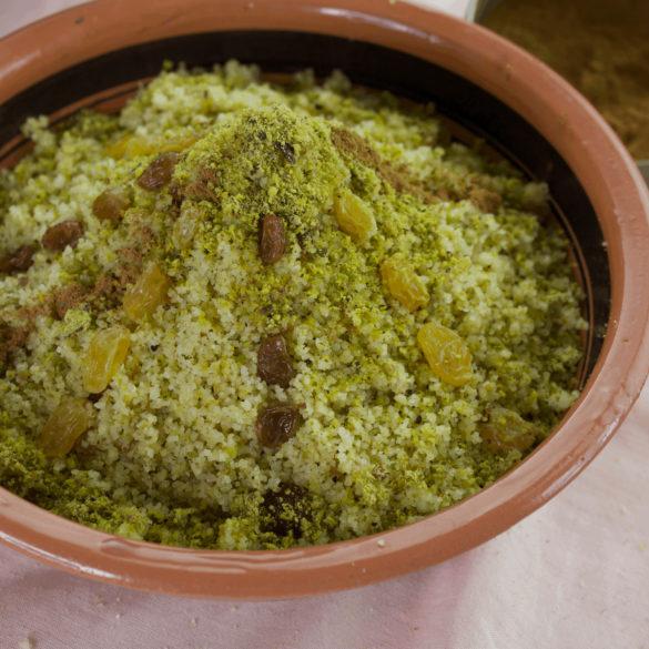 mesfouf aux raisins secs recette ramadan
