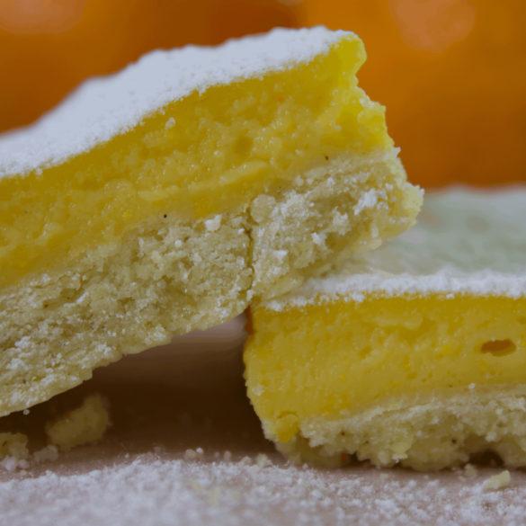 dessert crémeux à l'orange